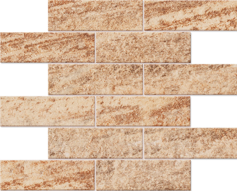 Мозаика Quarzite Bricks QZ 00, 02, 03 30х38 неполиров.